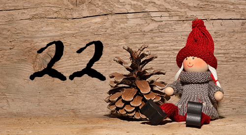 Joulukalenterin luukku 22